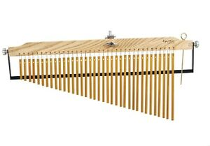 Tycoon-Percussion-Master-Series-36-Gold-Bar-Chime-with-Damper-Bar
