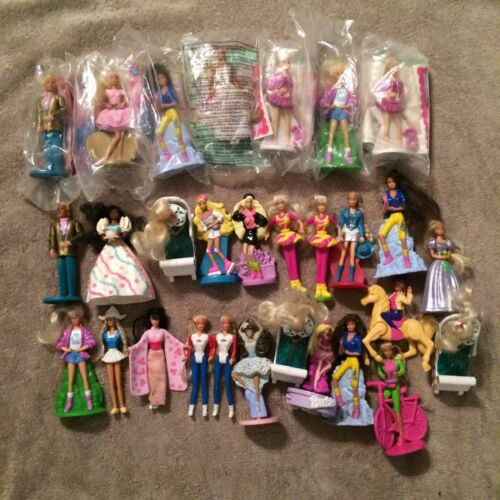 1990's McDonald's Barbie Mixed Lot of 29 NIP Preowned Clean