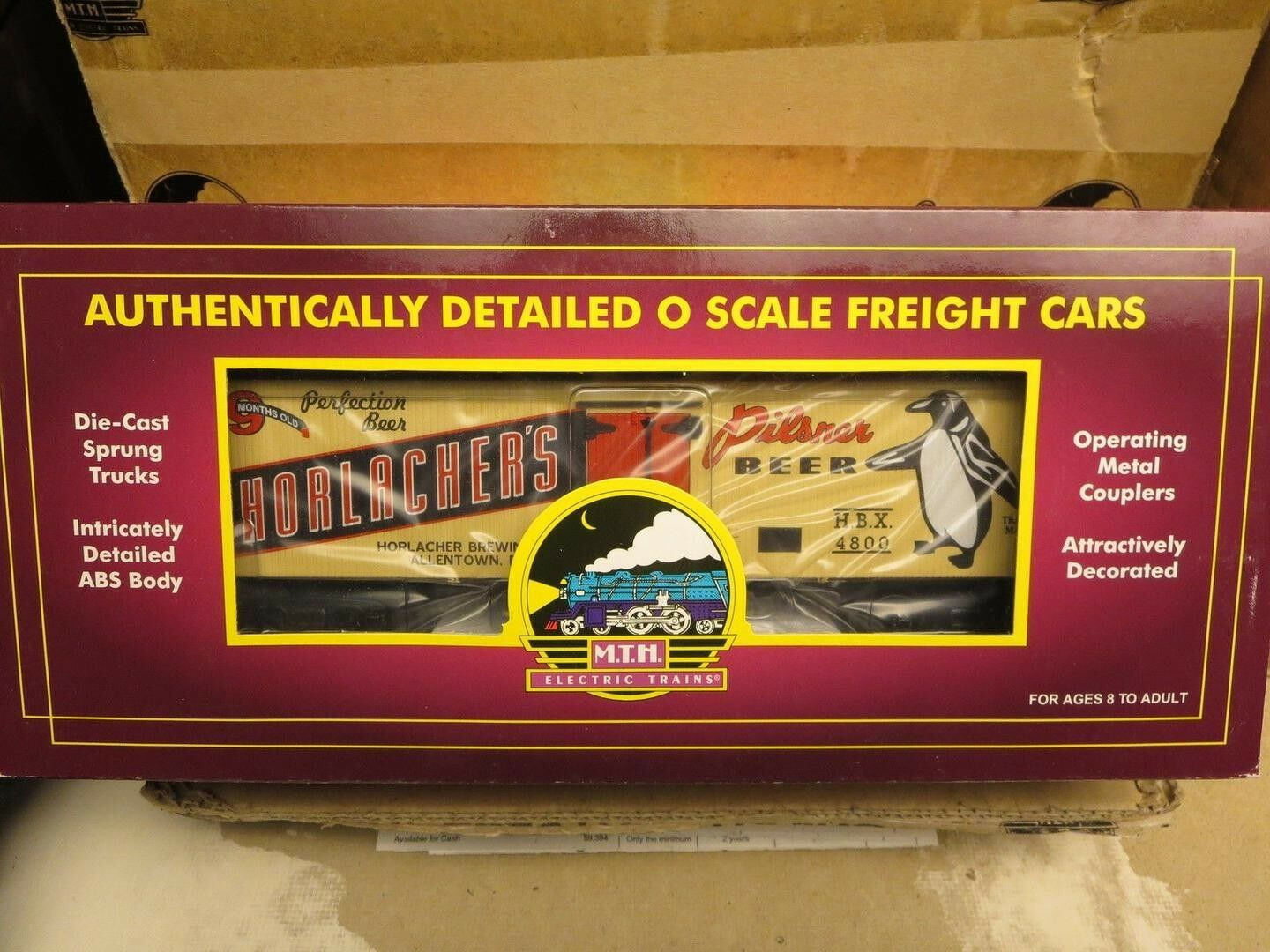 MTH 20-5636D HORLACHERS 36' WOODSIDE REEFER ONLY FROM P5A SET, BRAND NEW IN BOX