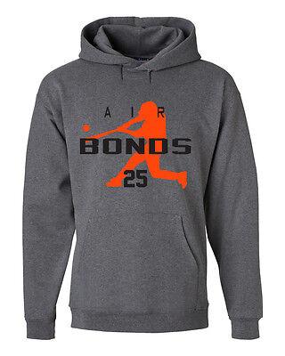 "Barry Bonds San Francisco Giants /""Air HOME RUN/"" jersey SWEATSHIRT HOODIE"