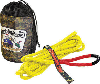 """Bubba Rope Lil Bubba ATV Recovery Rope 1//2/"""" x 20/' Breaking Strength 7,400 lbs"""