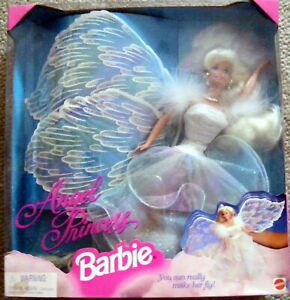 Angel Princess Barbie Doll #15911 With Wings New In Box Mattel 1996