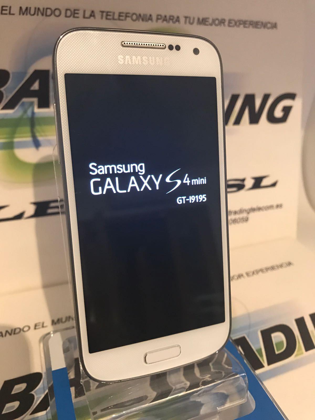 SAMSUNG GALAXY S4 MINI I9195 4G LTE BLANCO LIBRE USADO GRADO A...