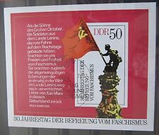 DDR Briefmarken 1975 Block 42 30.Jahrestag der Befreiung mit EST Gummiert