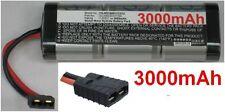 Batterie 7.2V 3000mAh type SC3000/D37/TRX Pour Generic RC Racing Car