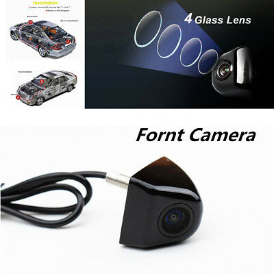 Consumer Electronics Exterior Black Hd Dc 12v 170°waterproof Night Vision Car Backup Front View Reverse Camera For Fast Shipping