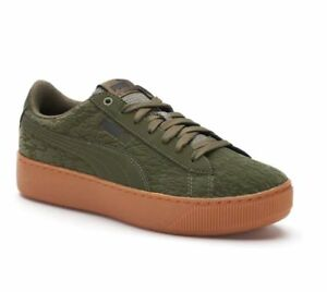 PUMA Vikky Platform Velvet ... Flocked Women's Sneakers high quality cheap price footlocker online buy cheap new marketable online m4Am9