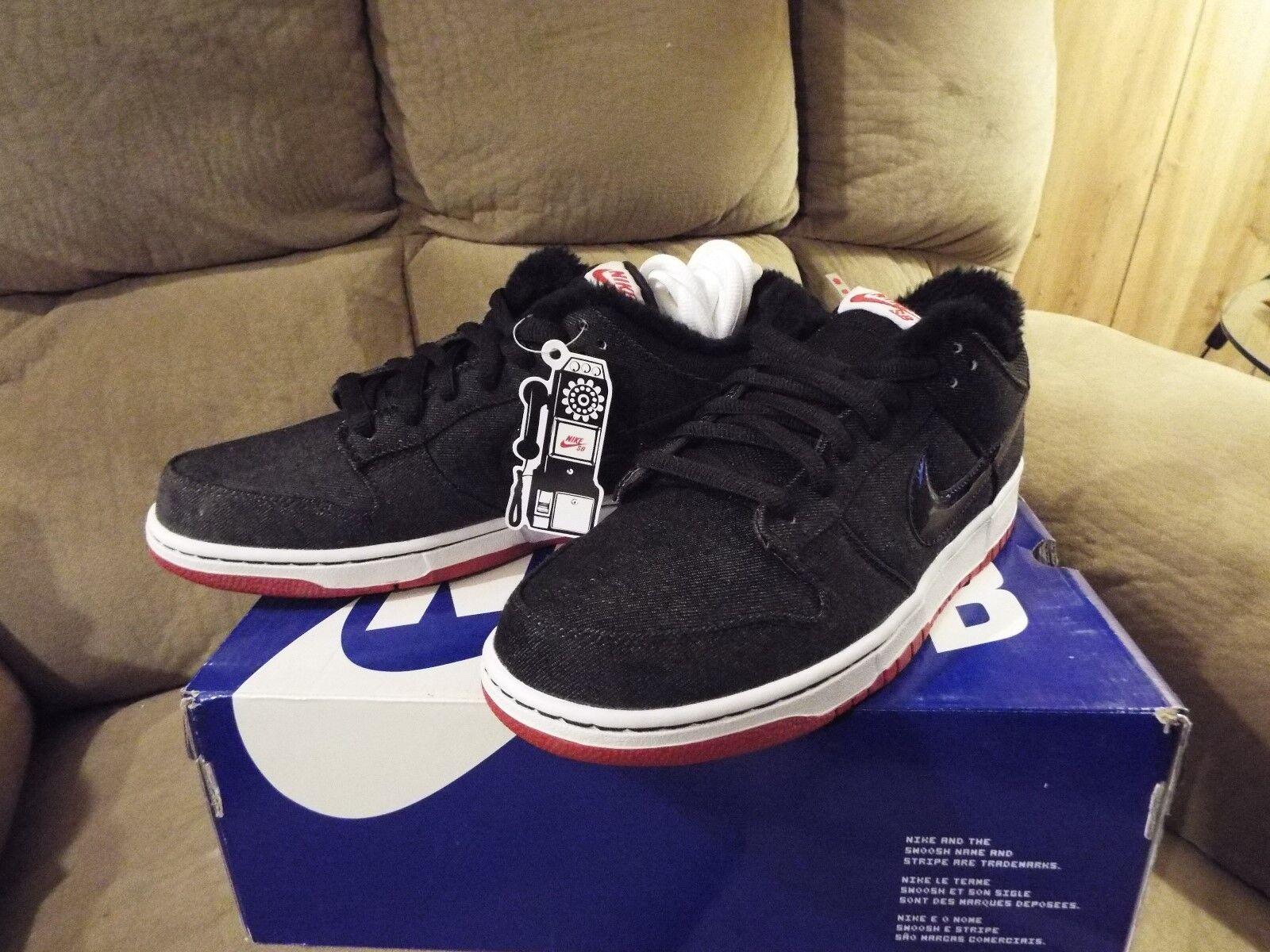Nike Dunk Low Premium SB - 10.5  Larry Perkins  NEW W BOX XTRA LACES DEADSTOCK