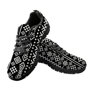 womens casual running vintage shoes black sole sneakers