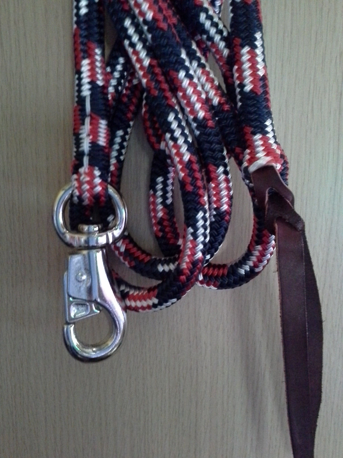 22ft Line with Bull Snap - Your Choice of Colour - made by Natural Equipment