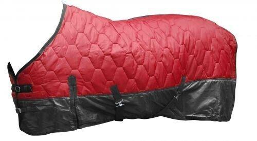 74  Rosso 420 Denari Trapuntato Nylon Cavtuttio Inverno Coperta da mostrareuomo nuovo