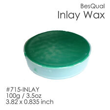 Dental Meta Inlay Wax Green | 100g/3.5oz | 3.82 x 0.835inch Item #715