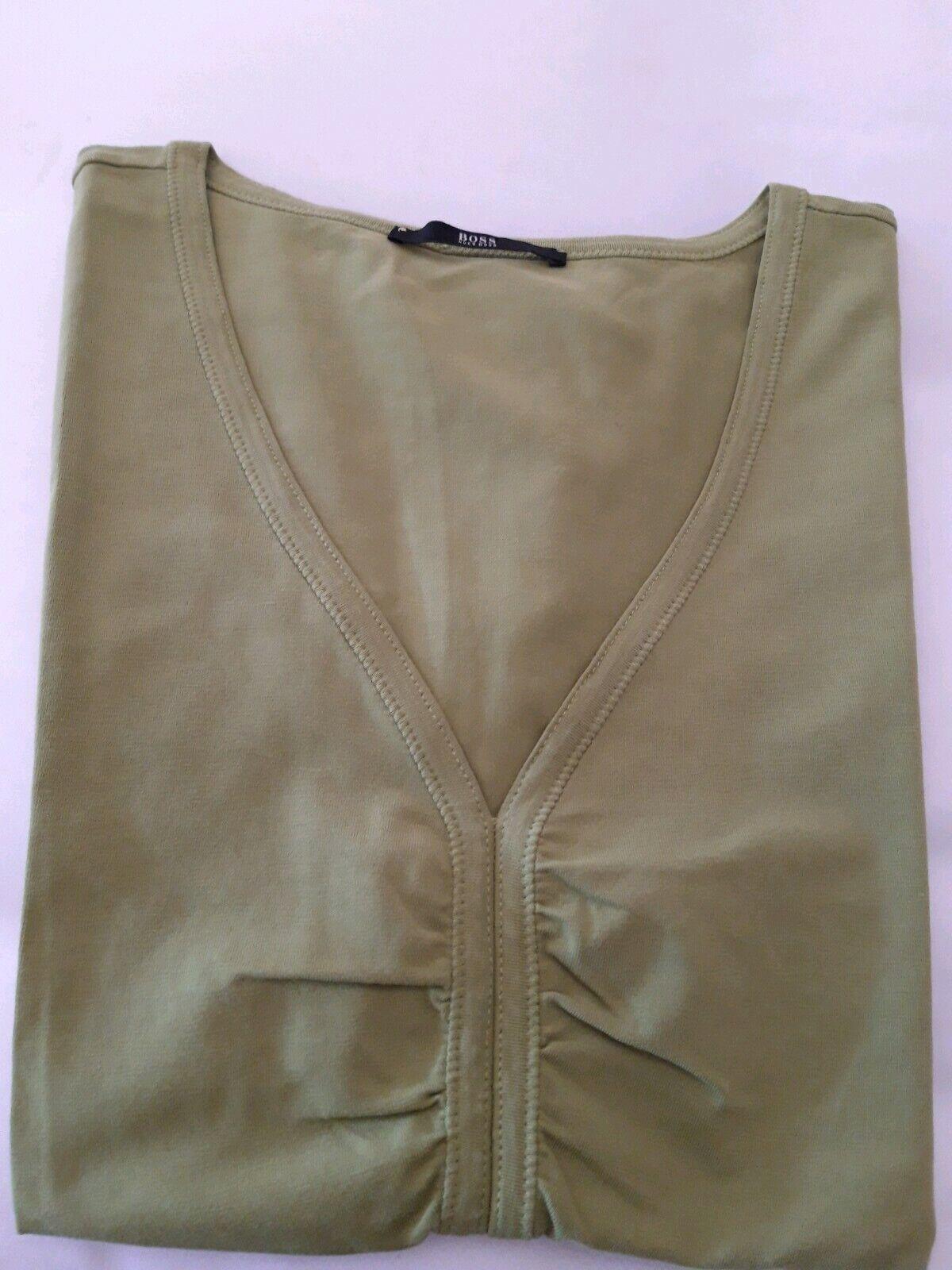Hugo Boss Shirt Gr. M grün - Top Zustand