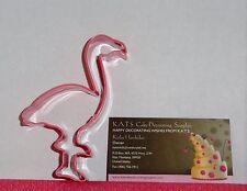 Flamingo Metal Cookie Cutter,4 In. Safari,Jungle,PR0920Q,Tropical Bird,Paradise