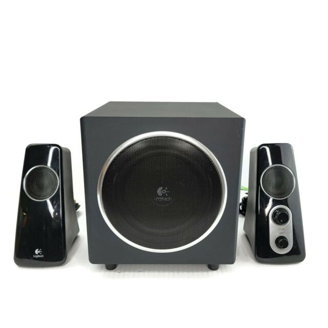 Logitech Computer Speaker System Z8 With Subwoofer 8 Watts 8 Degree  Sounds