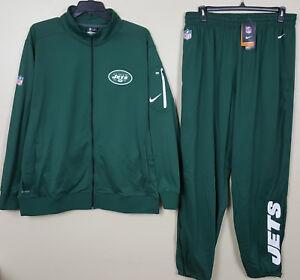 Street Price Pants Green Nfl Rare New size 2xl 3xl Nike New York Jets Dri-fit Suit Jacket