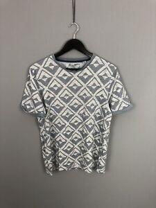 Ted-Baker-camiseta-gris-talla-4-Grande-Excelente-Estado-Para-Hombre