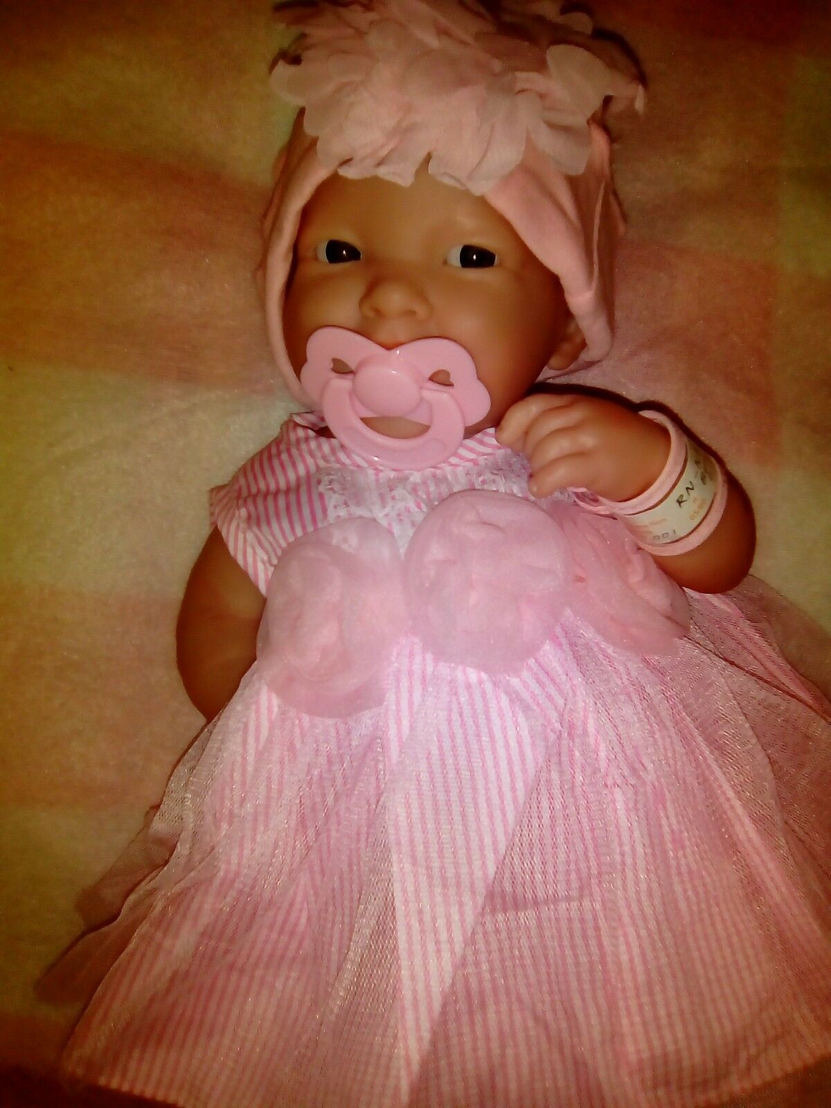 Bellissima Baby Doll Girl BERENGUER,Corpo pieno per reborn o gioco