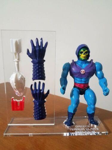 Vintage MOTU Greece Terror Claw Skeletor  Base Set No figure or weapon.
