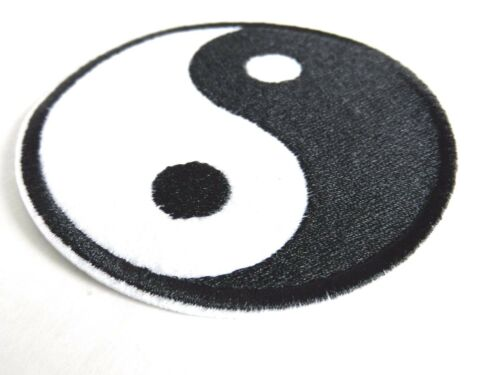 TAIJI symbol 1 PIECE YIN AND YANG EMBROIDERED IRON ON PATCH HOT SALE NEW