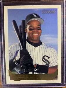 Frank Thomas Baseball Card #150 Topps Gold Chicago White Sox SSP MLB HOF MINT