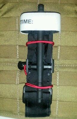 Tactical Lt MOLLE Gear Strap - Tourniquet Holder (2ea) Pouch (Red)