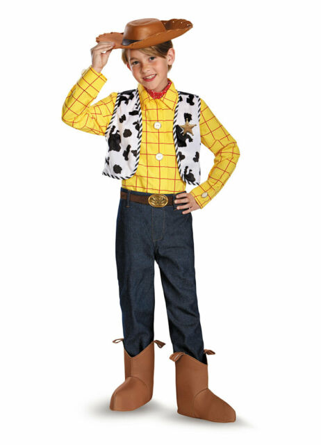 NEW Woody Classic Child Costume Disney Toy Story Halloween Dress Up Sz XS 3T-4T