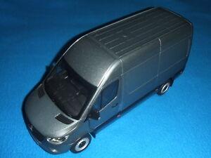 Mercedes-Benz-W-907-910-Sprinter-Fourgonette-2018-Selenite-gris-1-18-Neuf-Ovp