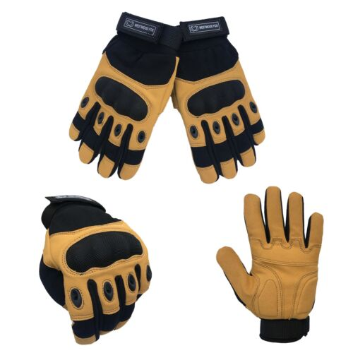 WFX Men/'s Army Military Tactical Hard Knuckle Gloves Full Finger Sports Airsoft