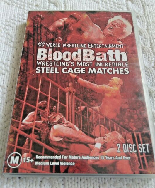 BLOOD BATH– DVD, 2-DISC SET, REION -1, LIKE NEW,FREE POST IN AUSTRALIA