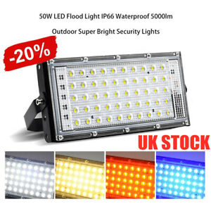 LED-Security-Floodlight-50W-Flood-Lights-Indoor-Outdoor-Garden-Waterproof-Lamp