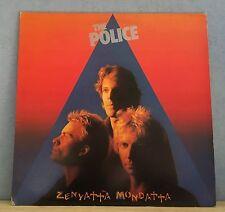 THE POLICE Zenyatta Mondatta 1980 UK vinyl  LP + INNER EXCELLENT CONDITION    T
