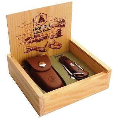 LAGUIOLE Seglermesser NEU+OVP Taschenmesser mit Marlspieker + Schäkelöffner