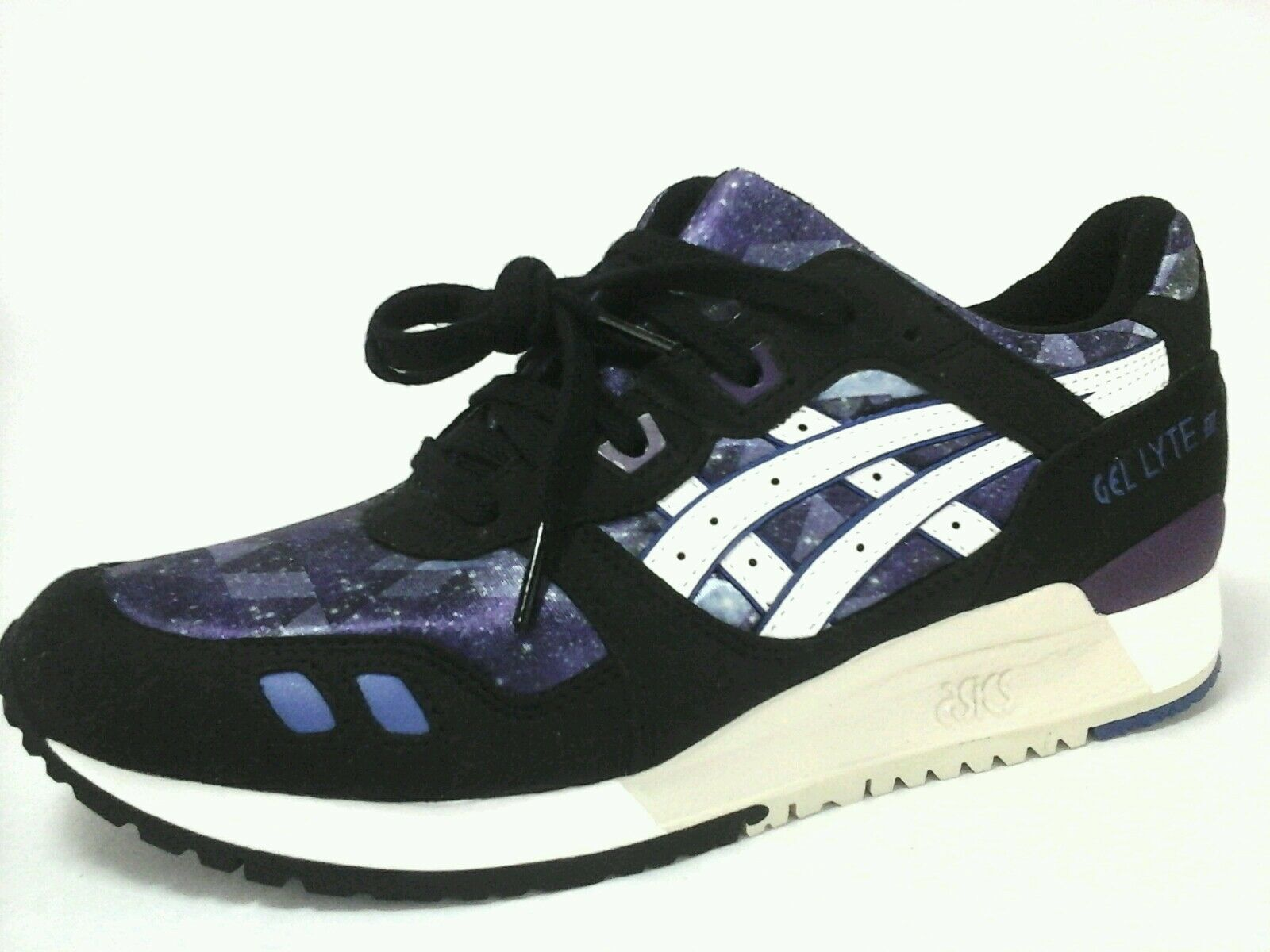 ASICS Sneakers Gel-Lyte III Purple Black SPACE Running Shoes Women 8.5/39.5 Price reduction Special limited time