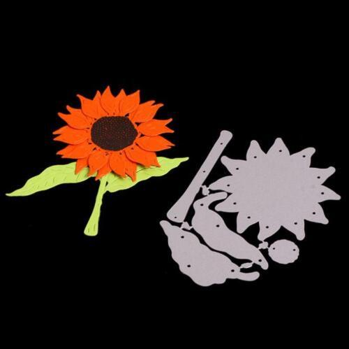 Sonnenblume Metall Stencil Cutting Dies Scrapbooking Stanzschablone Tagebuch DIY