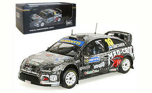 IXO RAM391 - Ford Focus RS WRC 08 Finland Rally 2009 - M Rantanen 1 43 Scale