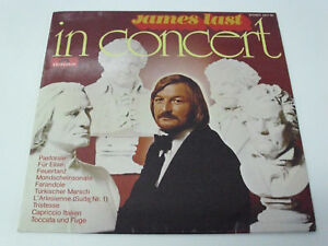 JAMES-LAST-In-Concert-1971-GERMANY-LP-1st-release