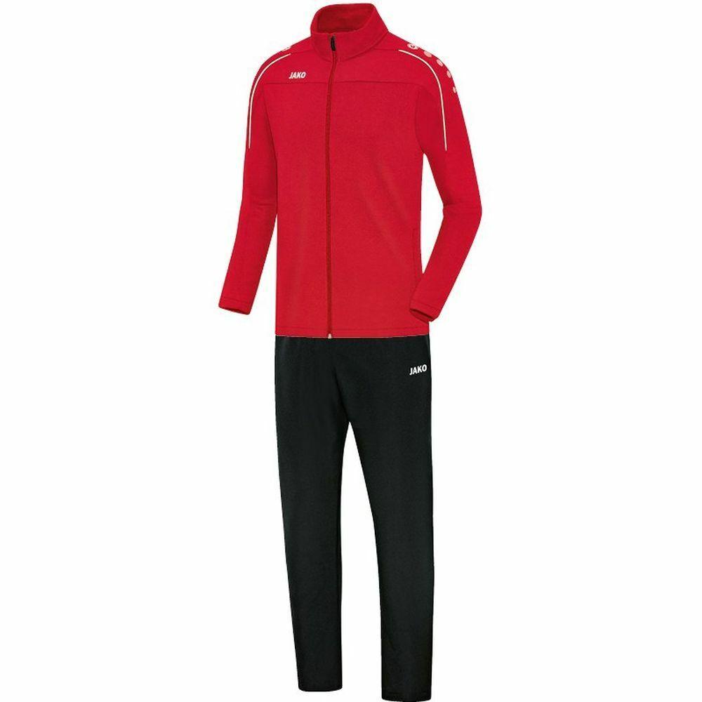 Jako Calcio Presentazione Tuta Classico Bambini Tuta Sportiva Giacca Pantaloni Rosso