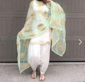 52408bfa6a Image is loading Punjabi-Patiala-Bollywood-Designer-Indian-Embroidery-SALWAR -KAMEEZ-