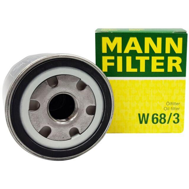 original Toyota Mann Filtro FILTRO DE ACEITE W68/3