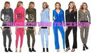 NWT-Juicy-Couture-Velour-Tracksuit-Women-Embellished-Jacket-Pants-Xs-S-M-L-XL