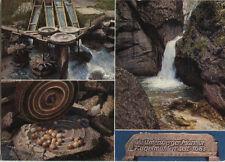 Alte Postkarte - Letzte deutsche Marmor-Kugelmühle in der Almbachklamm