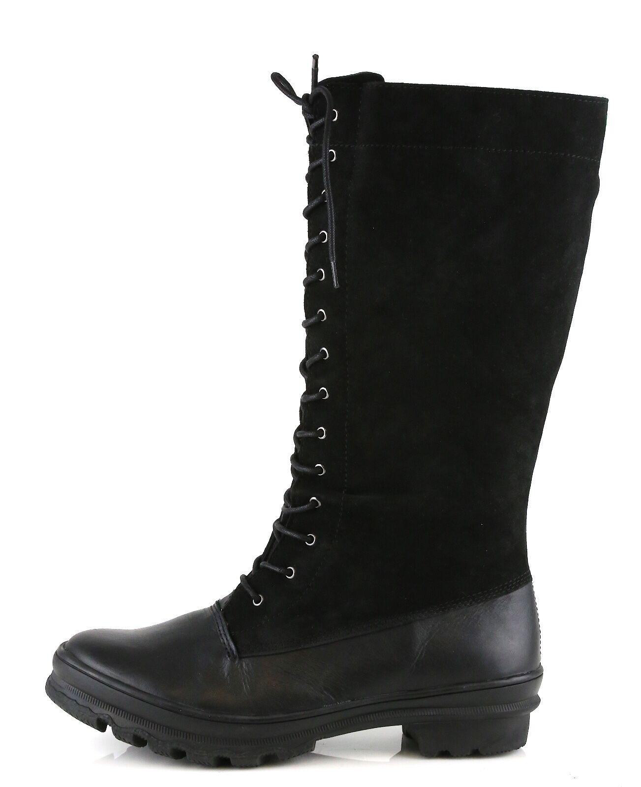 Cougar Portico Mujer Negro Cuero Cuero Cuero Impermeable botas 8480 tamaño 6 M  nuevo