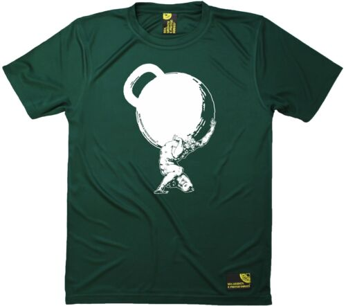 SWPS Kettlebell Weights Mythology Dry Fit Sports T-SHIRT