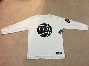 300b35f13cf6 BNWT RARE Nike EYBL Long Sleeve Shirt basketball lebron kd supreme ...