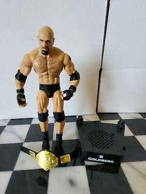 WWE Mattel Action Figure Accessory Bill Goldberg Entrance Greats STAND ONLY