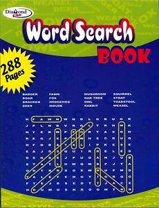 Rojo-de-busqueda-de-palabras-Rompecabezas-Libro-288-pagina-Nino-Nino-diversion-actividad-de
