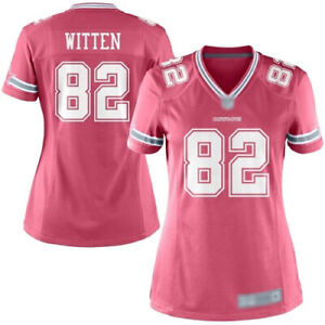super popular 6ab25 727e6 Details about NFL Dallas Cowboys Witten # 82 Women's Pink Game Jersey 2XL