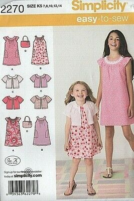 9245 UNCUT Vintage Simplicity Sewing Pattern Full Craft Barbecue Apron Easy OOP