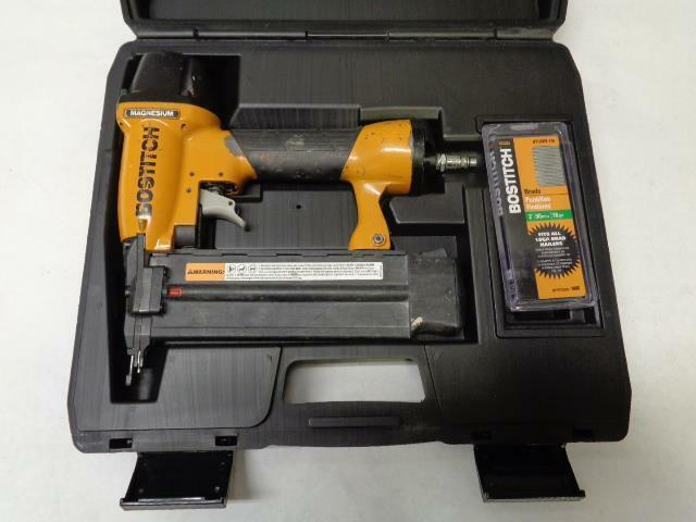 1 USED BOSTITCH BT200 18 GAUGE 5 8-2  BRAD NAILER F1
